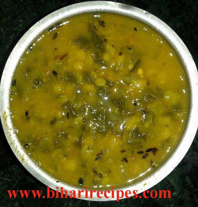 Palak Dal Recipe in Hindi, Palak, Dal Palak Recipe