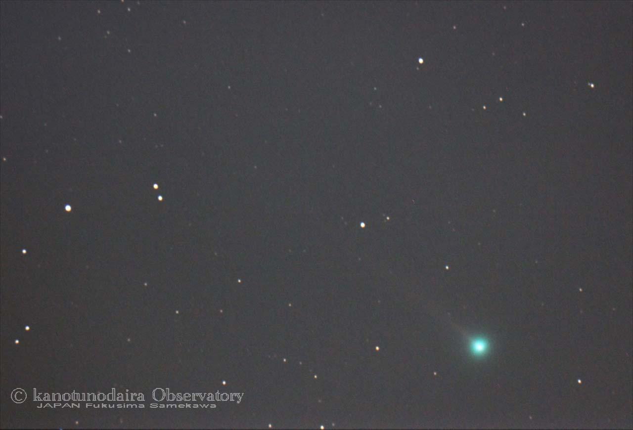 正月(1/2)の本田・ムルコス・パジュサコバ彗星(45P)