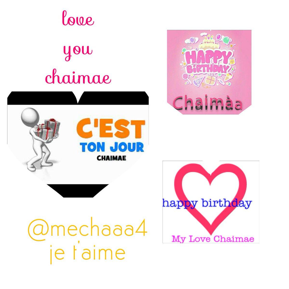 Hashtag Chaimae Sur Twitter