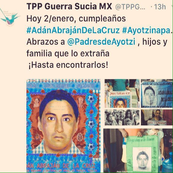 @comoleerenbici :  #Hoy #E2 /17  Te Abraza TU FAMILIA Y AMIGOS ️ #AyotziViveLaLuchaSigue ️ <br>http://pic.twitter.com/5QXUWX32Us