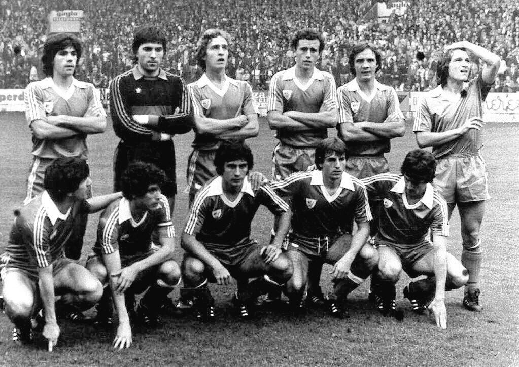 Resultado de imagen de fotos del athletic en 1980