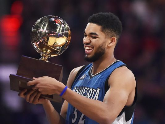 #NBAVOTE Karl Towns https://t.co/sVUH4GDoxM