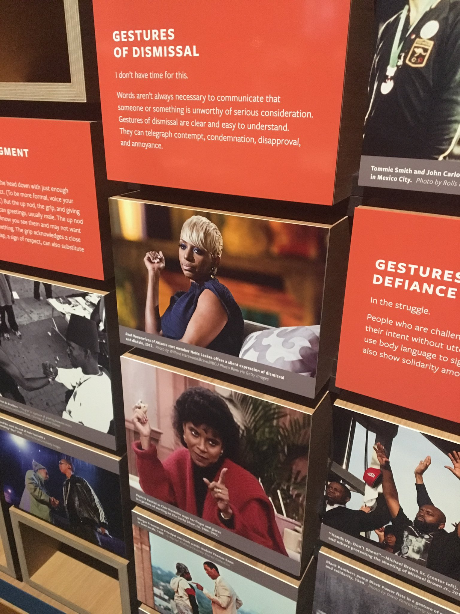 Bruh why is NeNe in the African American museum �� https://t.co/lOnPvO7nh7