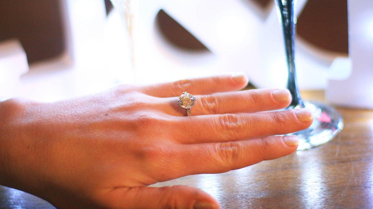 She said yes!! @2ToesUp