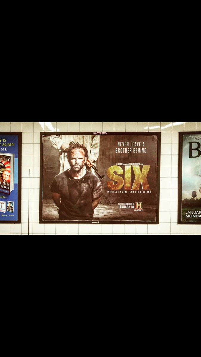 New York subway love for SIX..... #six #sixonhistory @HISTORY @SixHistory @WeinsteinFilms https://t.co/PBPtgxd2YA