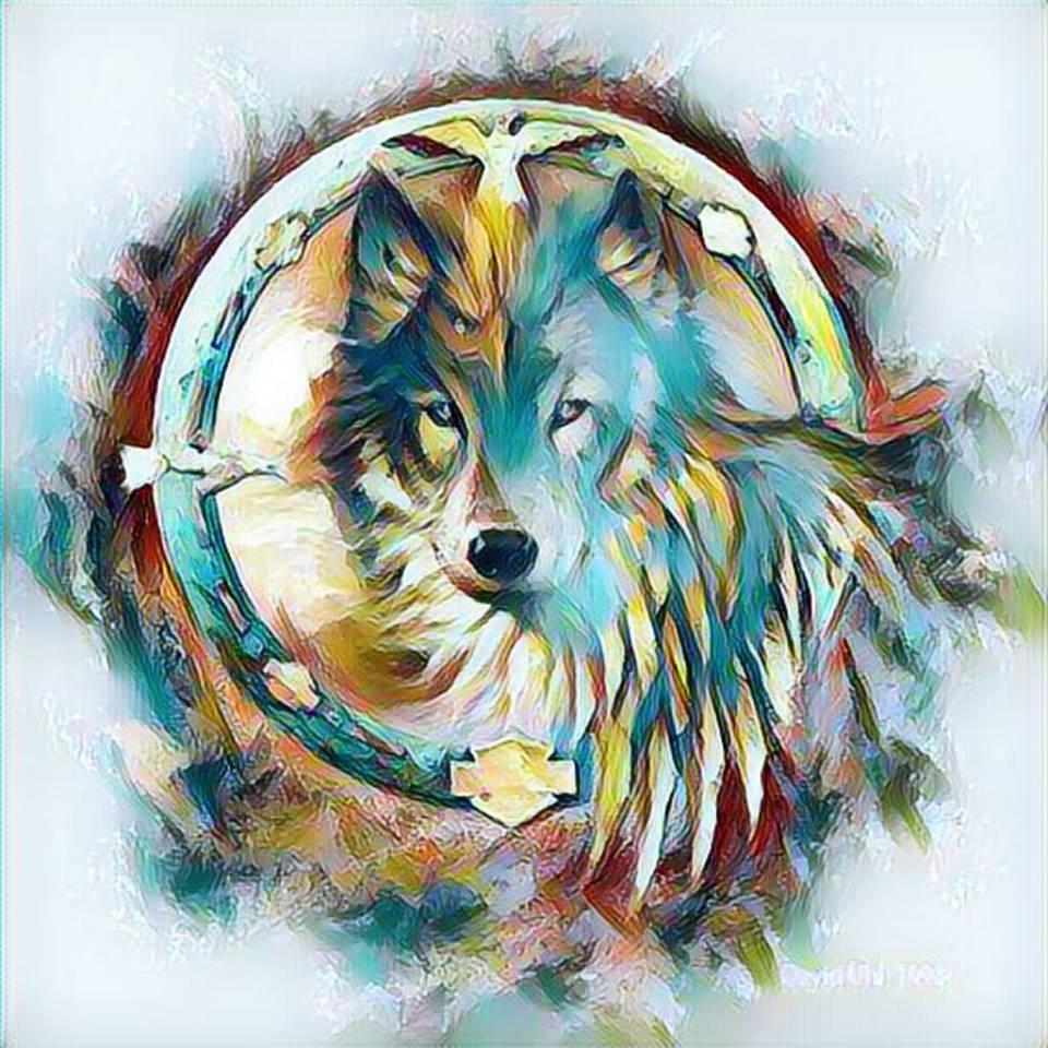 cool wolf symbols