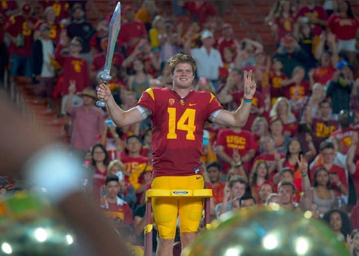 And we get a few more years with Sam Darnold. So we got that goin for us. #FightOn