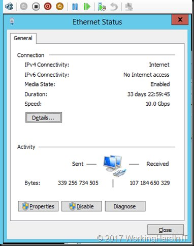 vNIC Speed in guests on Windows Server 2016 Hyper-V https://t.co/UwF93KetUj https://t.co/yU2mBpg1tF