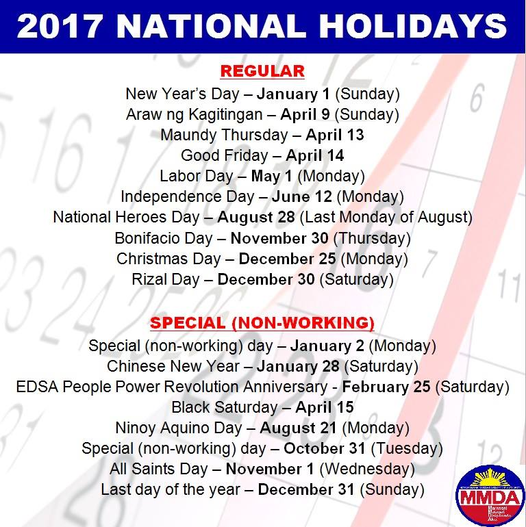 Official MMDA On Twitter ADVISORY Please Be Guided The 2017