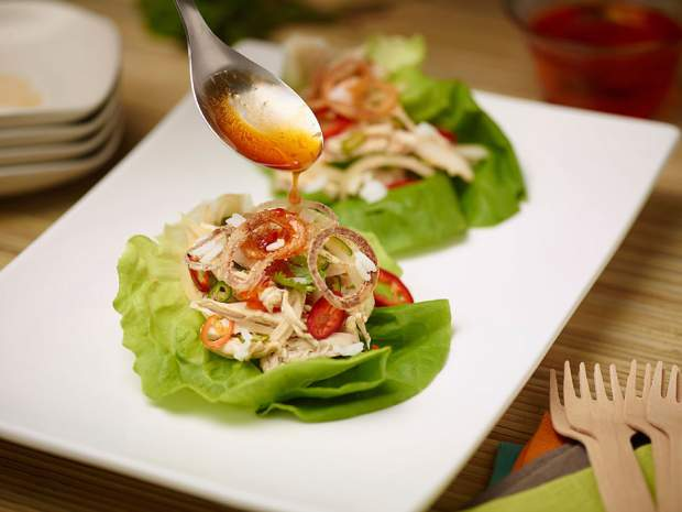Vietnam inspires a bright and fresh post-holiday chicken salad