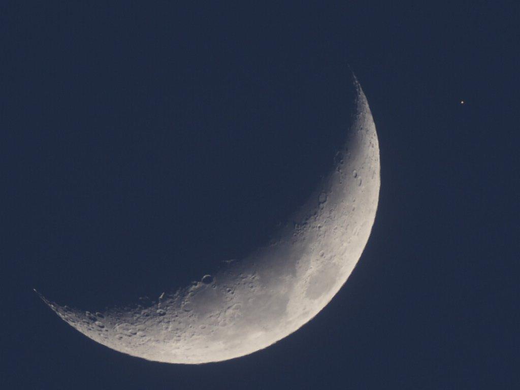 月も火星も♪