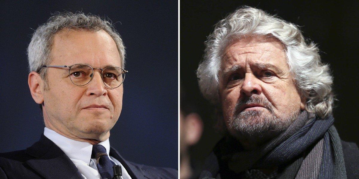Enrico Mentana querela Beppe Grillo: 'Il mio Tg non fabbrica notizie false. Ne risponderà in sede civile e penale' https://t.co/LNZwD93lkI