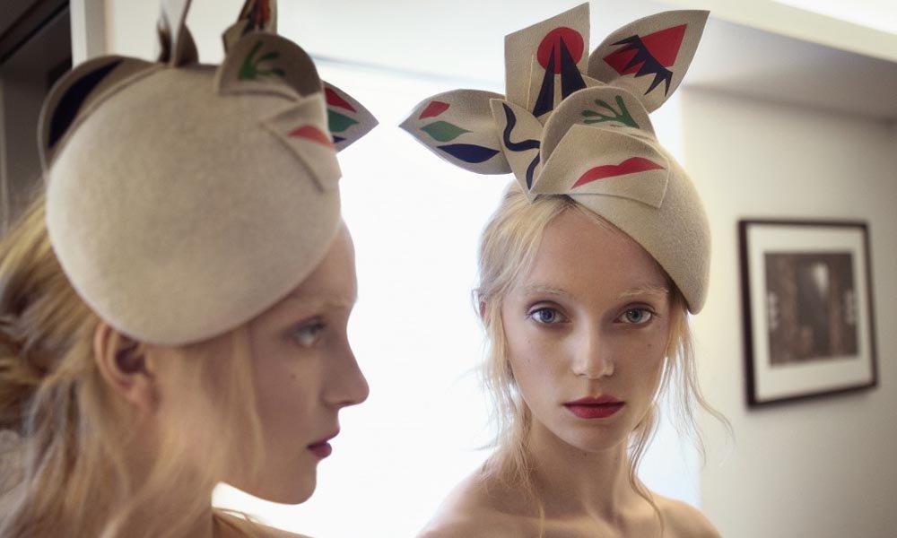 Preciosos sombreros inspirados en la obra de Henri Matisse por Laura Apsit Livens https://t.co/lBMcCITrsl https://t.co/xBAH6MVMzS