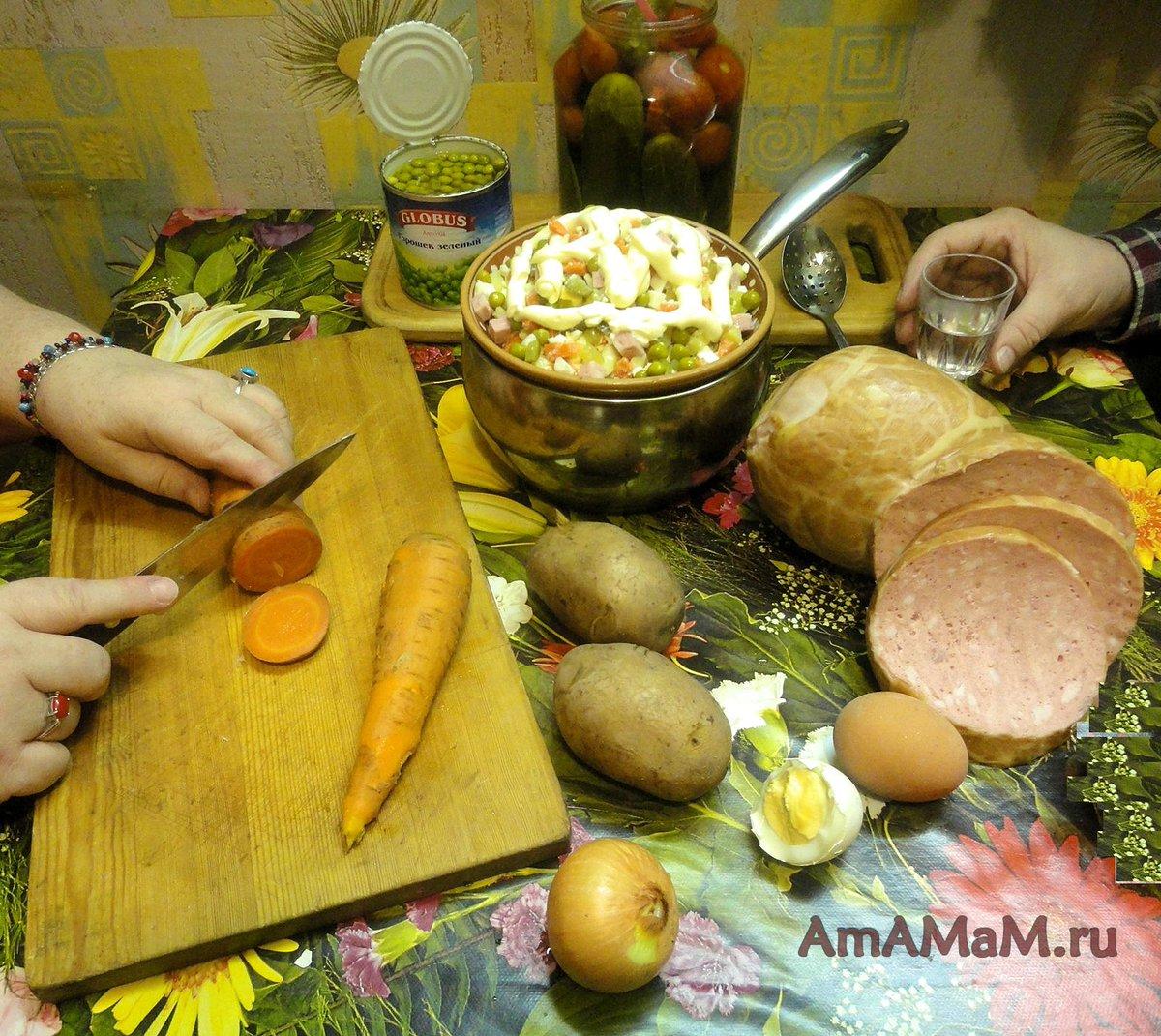 Рецепты салата с семгой с фото