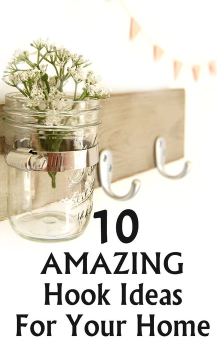 10 Amazing Hook Ideas For Your Home
