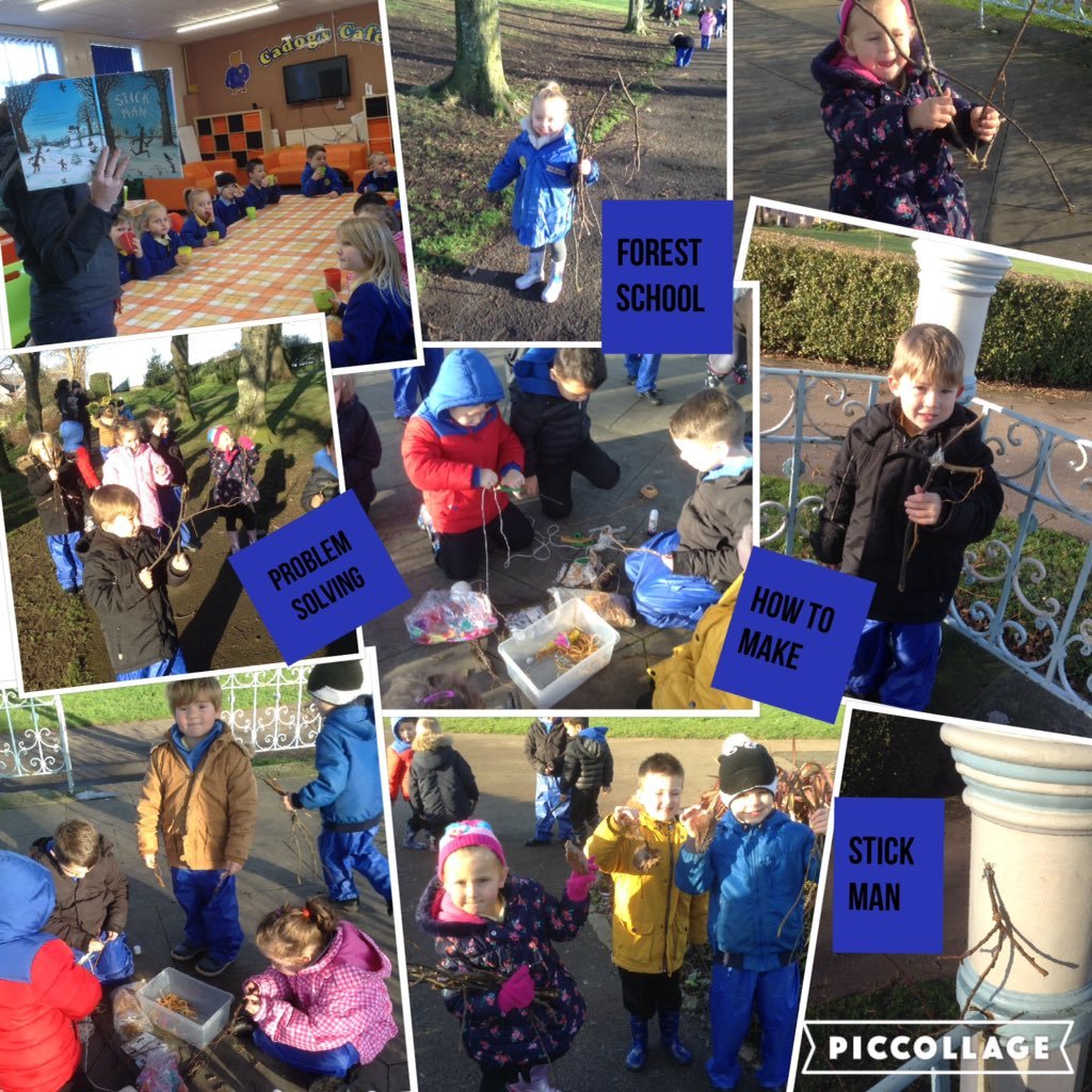#reception starting the new year searching for       &quot;Stick Man&quot; #outdoorlearning #forestschools <br>http://pic.twitter.com/SKd23bmDg6
