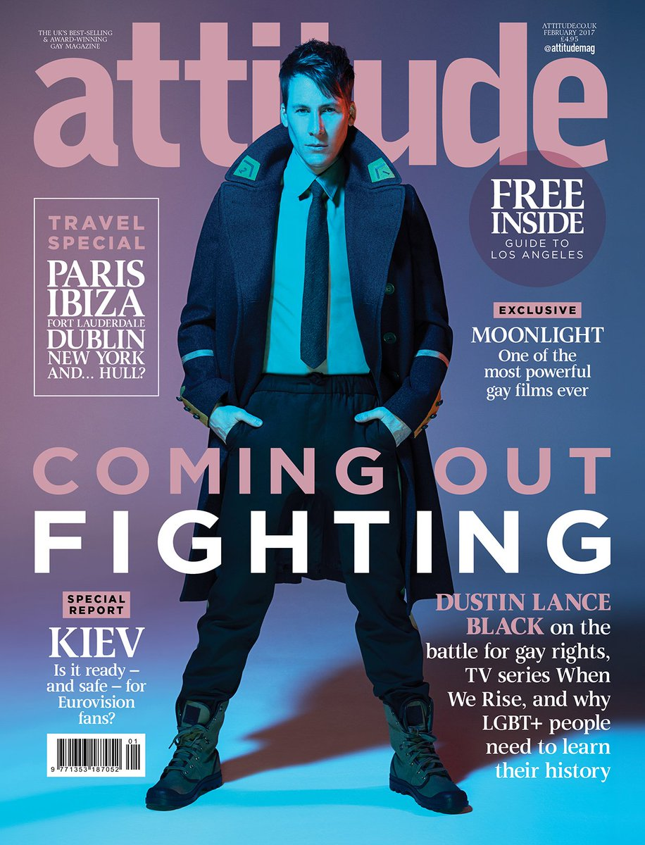 Rise up! Dustin Lance Black is ready to inspire a new generation in Attitude's February issue: https://t.co/pU5CSoJ6pc @DLanceBlack https://t.co/tN85PuE445
