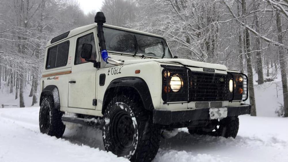Allerta Meteo con neve e ghiaccio