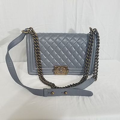 e299d5d74f32 #chanel #handbag Authentic Chanel Gray Diamond Quilted Handbag Purse # 10218184 http://dlvr.it/N1mVQT #forsale #fashion  #blackisbeautifulpic.twitter.com/ ...