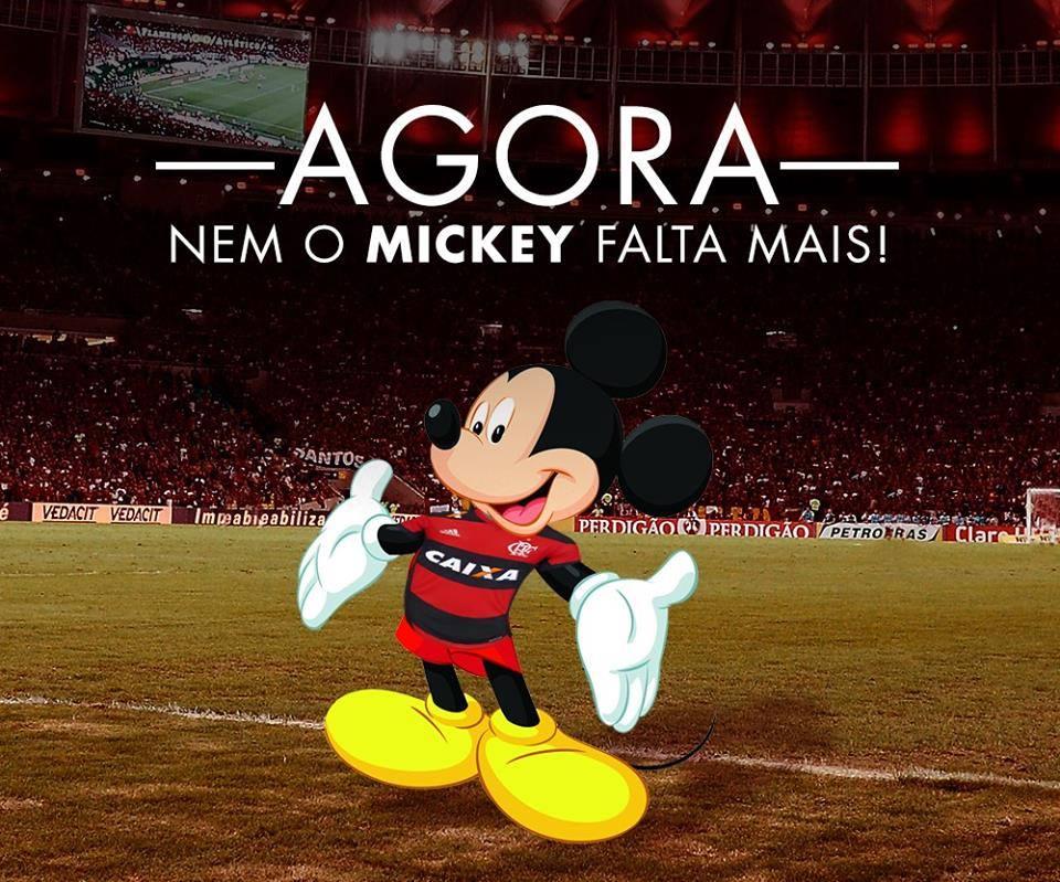 'Nem o Mickey falta mais'! #EI https://t.co/htIPnV68vf
