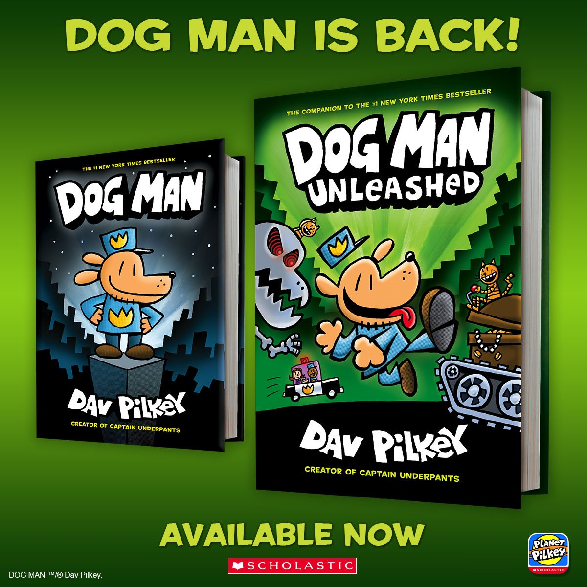the adventures of dog man unleashed