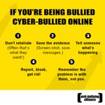 Good tips from @ABAonline 4 help #cyberbullying  BE SAFE #ONLINE & HELP OTHERS BE SAFE TOO! Plz share the tips 2 help