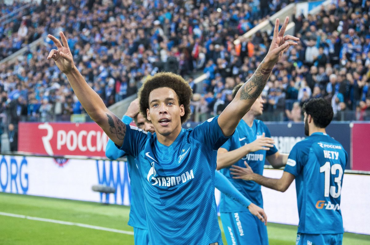 "FC Zenit in English on Twitter ""It s official Axel Witsel is"