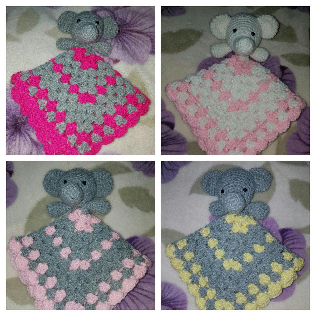 Grace: Crochet Elephant Comfort Blanket   1200x1200