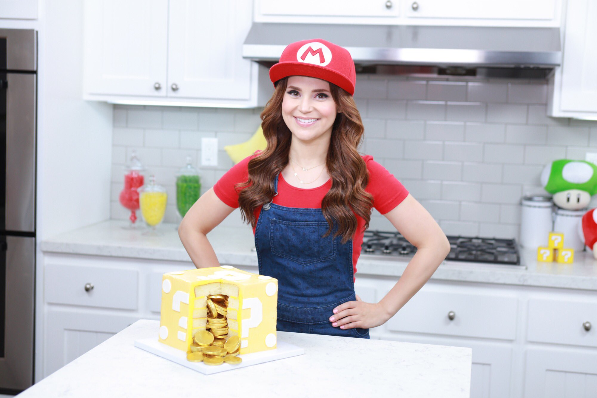 Rosanna Pansino On Twitter Quot New Video Made A Mario