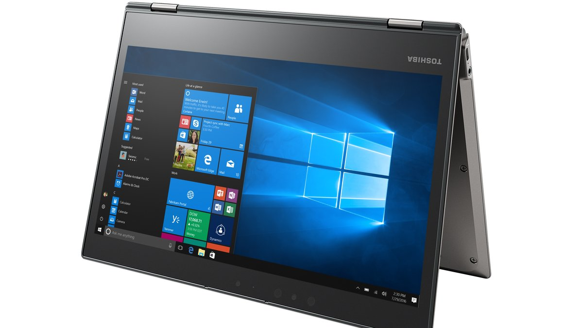 Toshiba's Portégé X20W is a convertible laptop that claims to get 16 hours of battery life