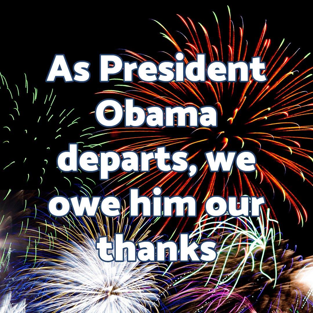 As #President #Obama #departs, we #owe him our #thanks  http:// ow.ly/CGBp307EWUd  &nbsp;   #CrossRoadsNews #AwardWinning #Newspaper #DeKalb #Decatur #ga<br>http://pic.twitter.com/3l6IVYVphl