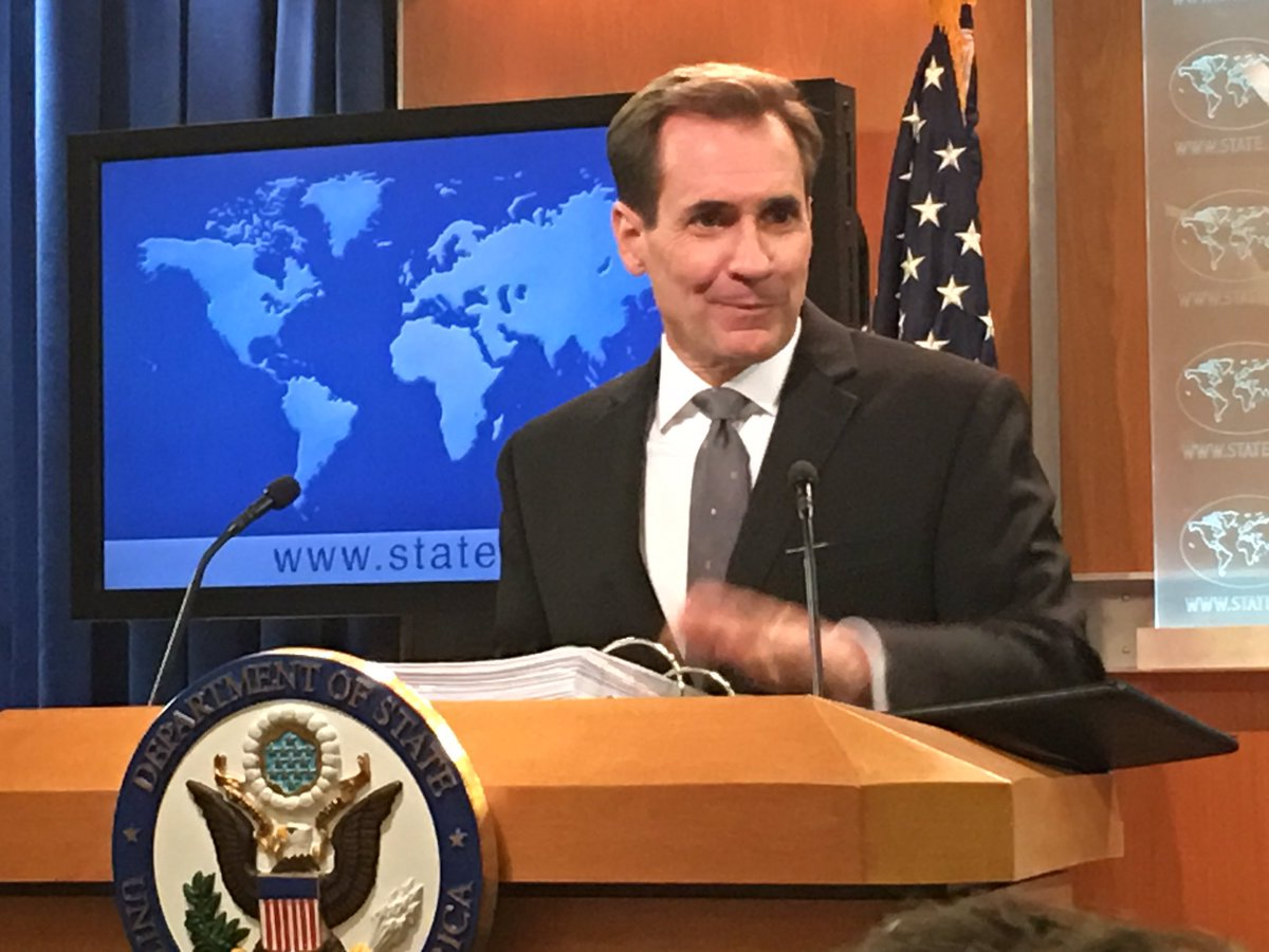 International community galvanized like it hasn't been before in regards to DPRK WMD development, says @statedeptspox.