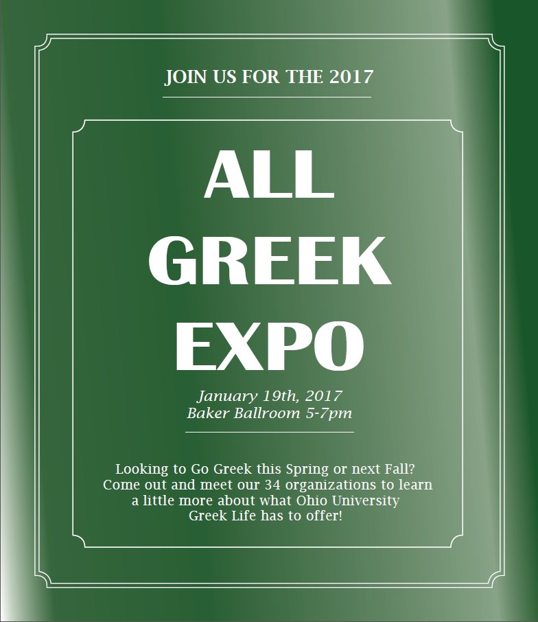 All Greek Expo