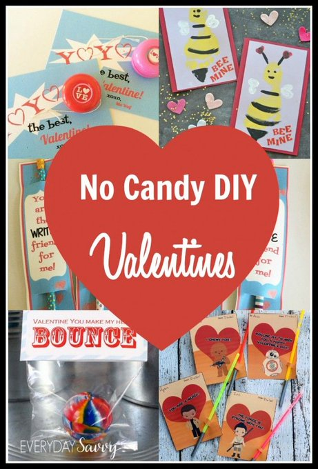 Crafty No Candy Valentine Ideas for Kids