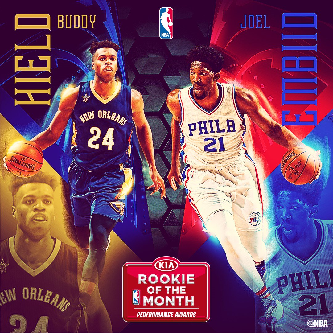 Buddy Hield Is The Western Conference Rookie Of The Month