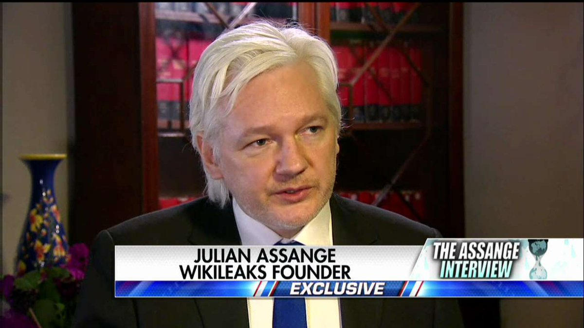 "'@FoxNews: Julian Assange on U.S. media coverage: ""It's very dishonest."" #Hannity https://t.co/ADcPRQifH9' More dishonest than anyone knows"