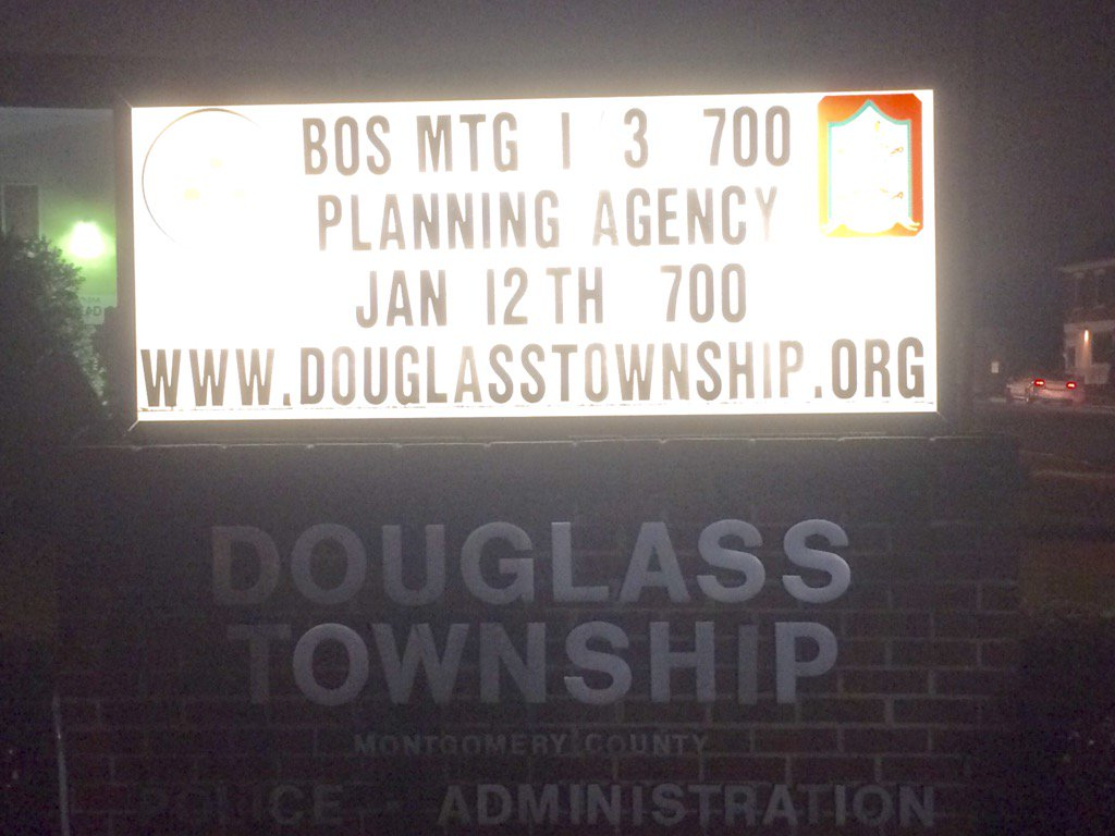 First Douglass Supervisors meeting of 2017. What could be more fun? https://t.co/VBSvuIWV7o