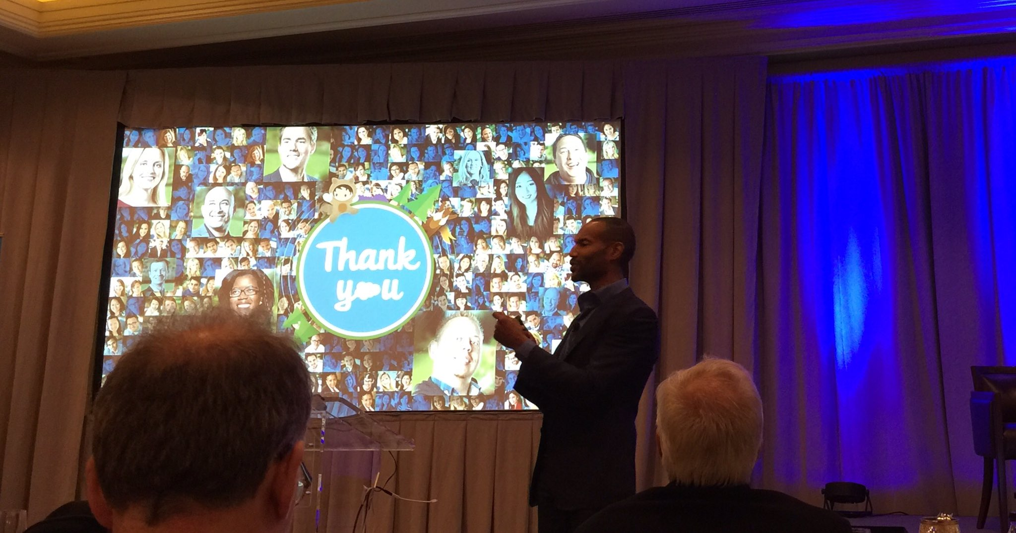 Chief Equality Officer @tony_prophet talking @salesforce culture and core values #SalesforceOhana #SalesforceAR https://t.co/d0Y2r4mLsw