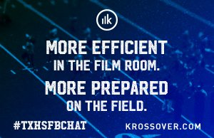 Welcome to #TXHSFBCHAT, tonight's topic is Evaluating Your Defense and sponsored by @Krossovr https://t.co/wWy5tbQMHo