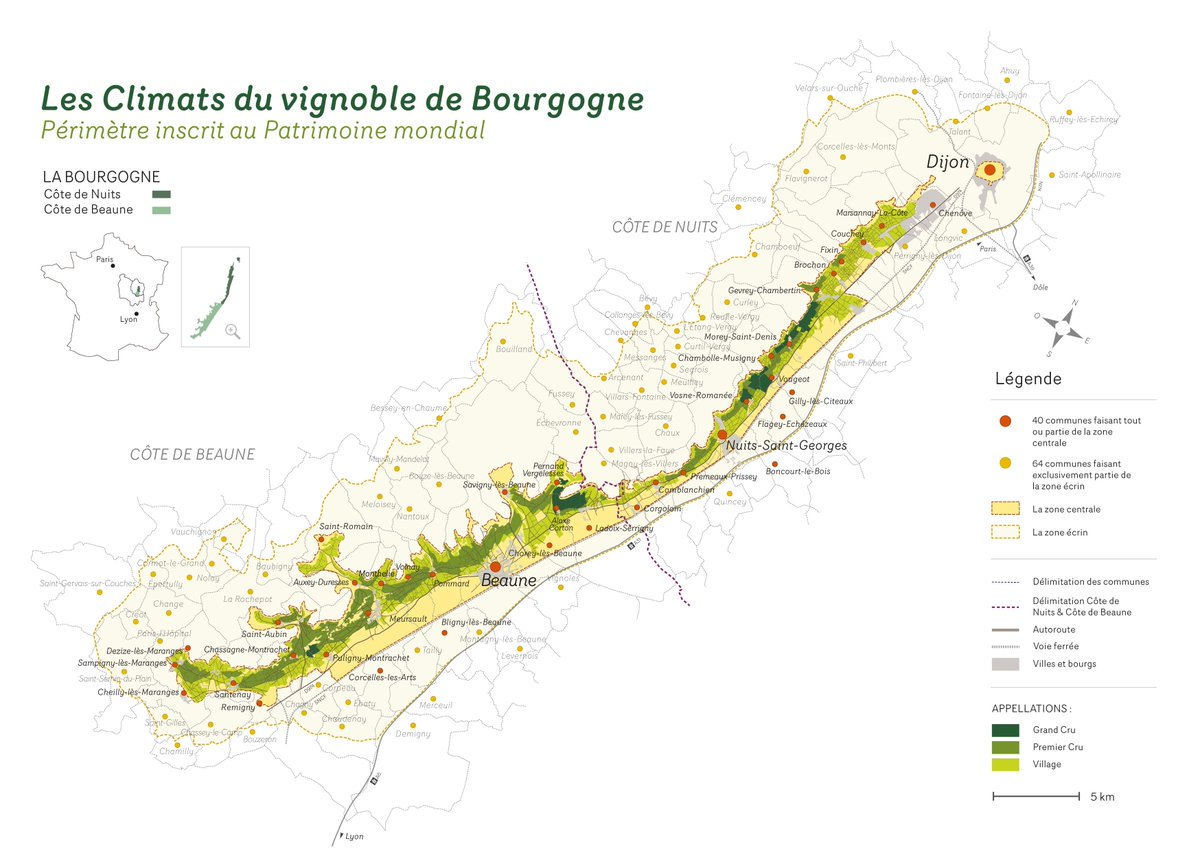 Guide Pratique ClimatsUNESCO Du Vignoble De Bourgogne Definition Carte Activites Visites Autour Beaune