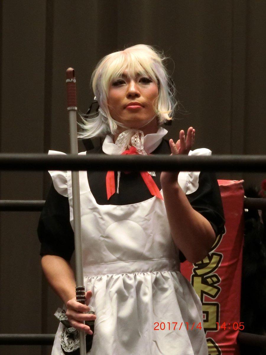 美威獅鬼軍のマーサは可愛くて優秀な新メンバー。  #東京女子プロレス https://t.co/oot5nDj8KT