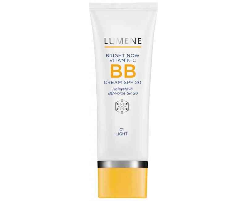 lumene bright now vitamin c придающий сияние крем для области вокруг глаз