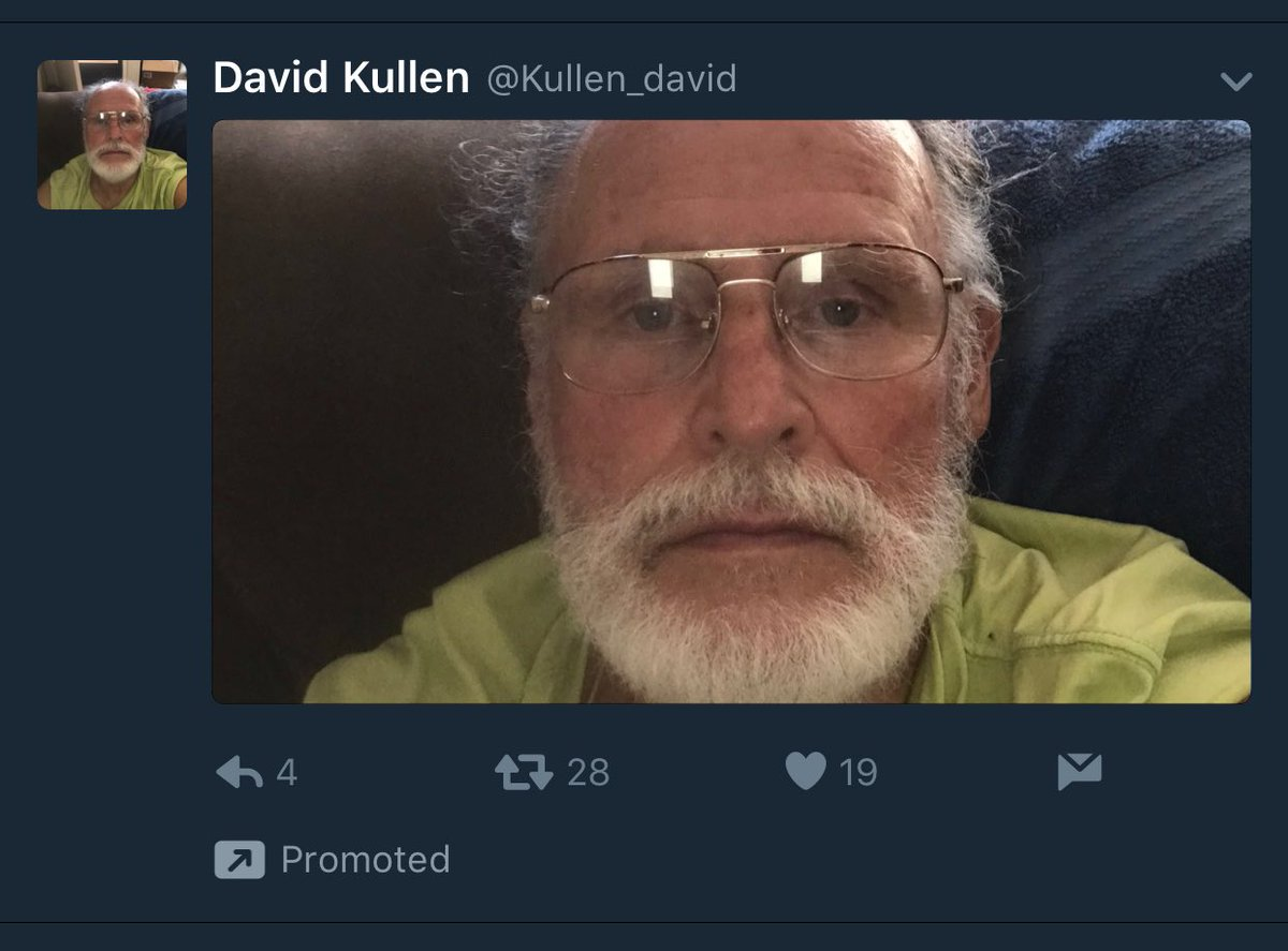 WHY IS THS OLD MAN PROMOTING HIS SELFIE THAT IS ALSO HIS PROFILE PIC https://t.co/7FdY5ltw6W