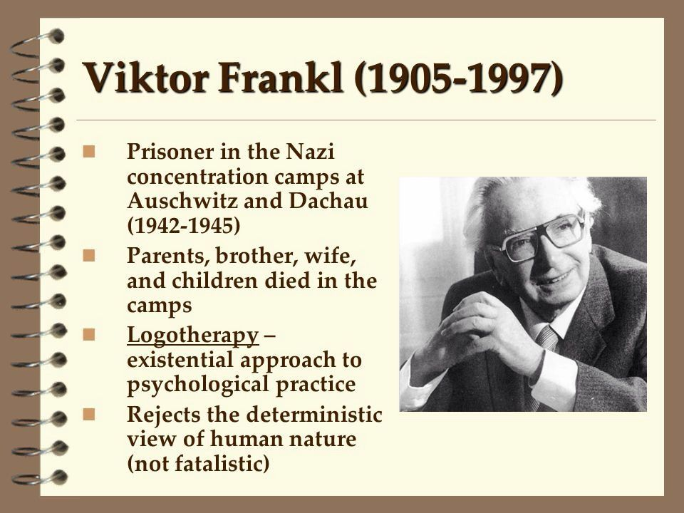 an analysis of the love story about the victor frakl in a concentration camp The first half of the slim volume is truly remarkable frankl recorded his 'experiences in a concentration camp' an interracial love story written by marilyn randall 'man's search for meaning' by viktor frankl.