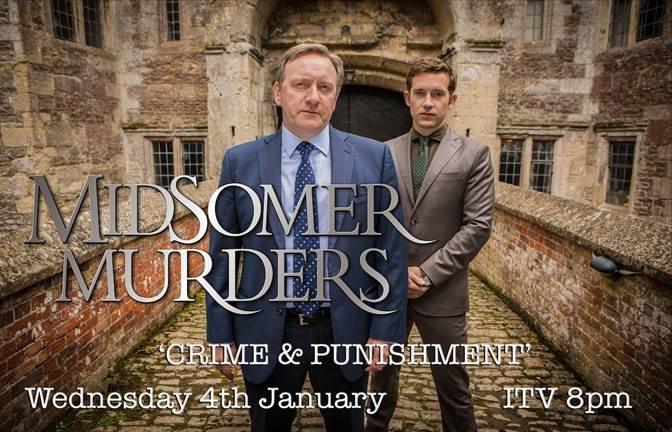 Make sure you tune in to #MidsomerMurders tonight featuring @FionaDolman. Catch it on @ITV at 8pm.