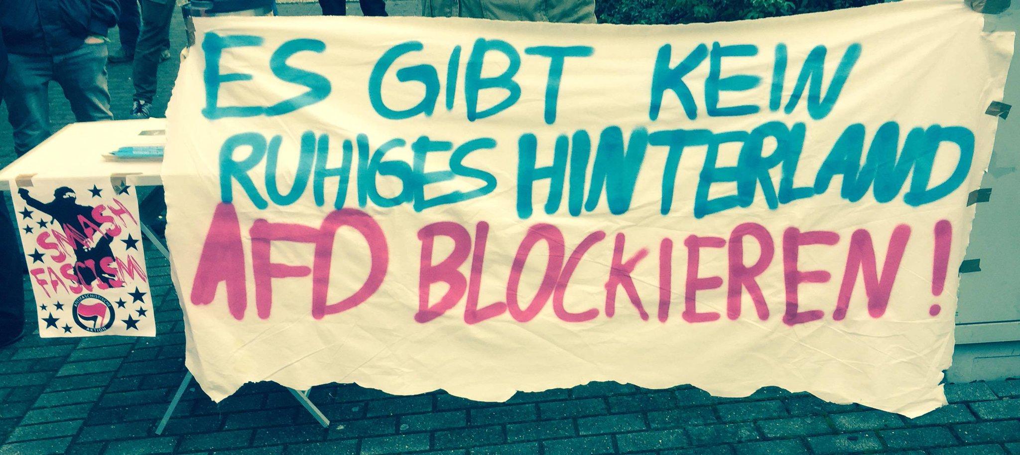 Bei den geplanten AfD-Veranstaltungen im Euskirchener City-Forum soll es wieder Gegendemonstrationen geben, wie es sie bereits bei der jüngsten Landeswahlveranstaltung gegeben hat.