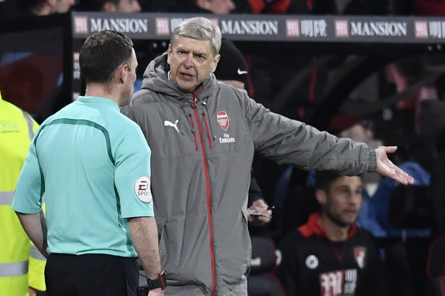 Bad news for Arsenal as Wenger hints key star could now miss rest of season