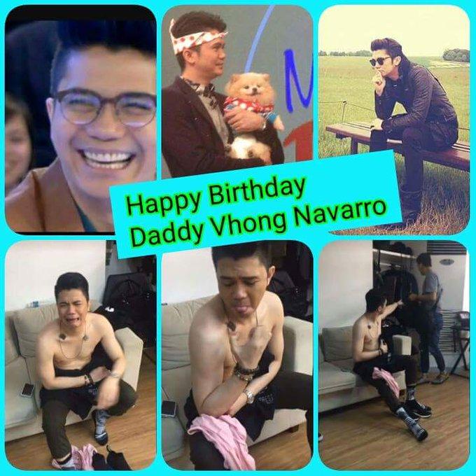 HAPPY HAPPY BIRTHDAY DADDY VHONG NAVARRO ~ FROM: your VhoIce Family