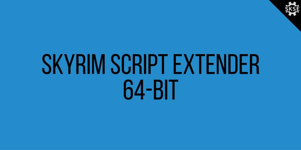 Skse 64 bit