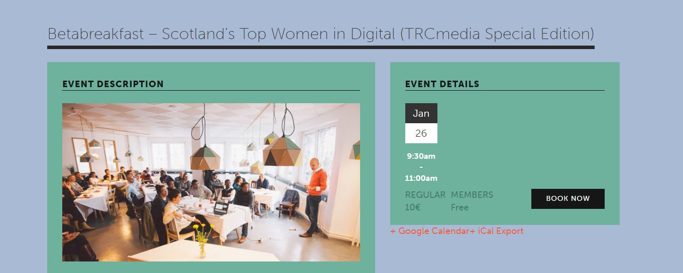 Exciting start to 2017: our #TRCspecialedition ladies will be speaking at @betahaus in Berlin this month! https://t.co/dWHimBAcx7 https://t.co/XyVrQ0lPf5